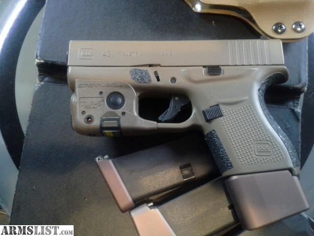 Armslist For Sale Glock 43 Taran Tactical Fde