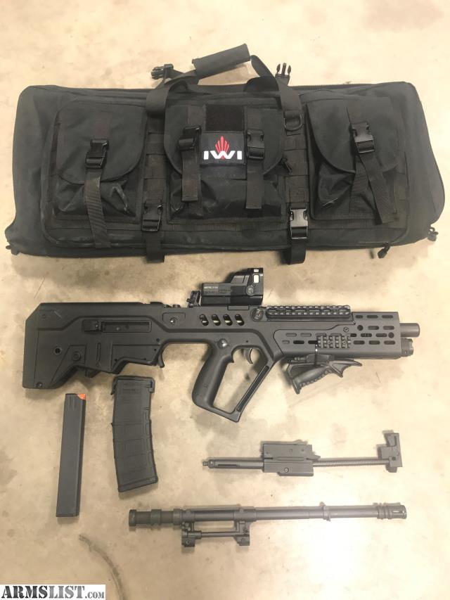 tavor sar iwi conversion kit loaded rifles armslist