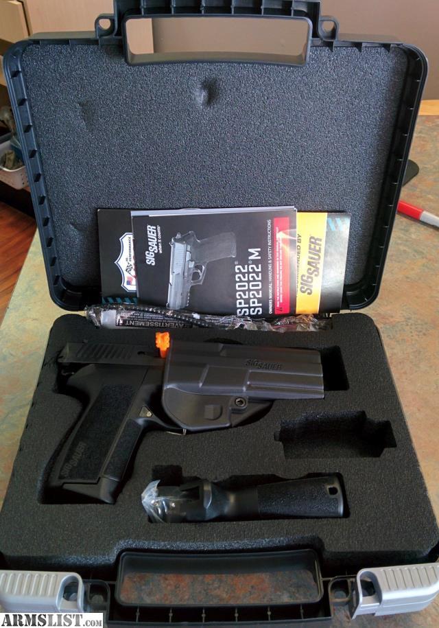 ARMSLIST - For Sale: Sig Sauer 9MM Model E2022-9-B Pistol