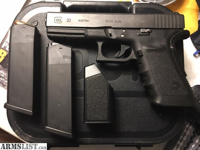 ARMSLIST - For Sale/Trade: Glock 20sf 10mm