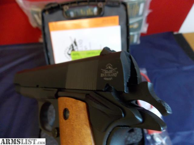 ARMSLIST - For Sale: Rock Island Armory 1911 M1 9mm Brand