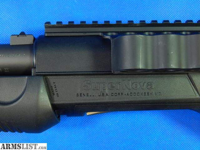 ARMSLIST - For Sale: Benelli Supernova | 12 GA | Pump ...