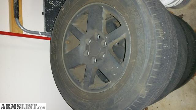 armslist for sale trade 18 yukon denali wheels and tires. Black Bedroom Furniture Sets. Home Design Ideas