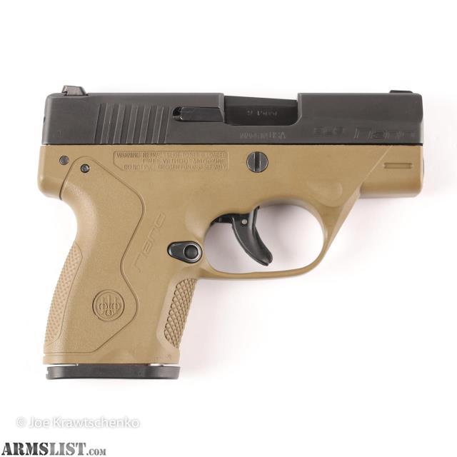 Armslist For Sale Used Beretta Nano Fde