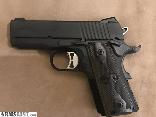 ARMSLIST - For Sale: Sig Sauer 1911 Ultra Compact 45 ACP ***Never