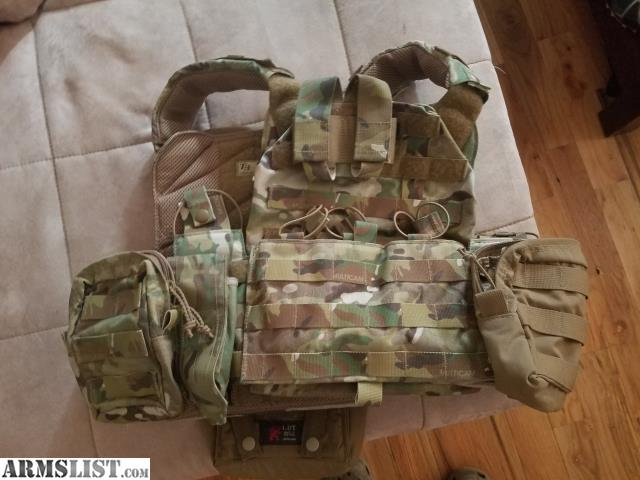 ARMSLIST - For Sale: T3 geronimo PLATE CARRIER