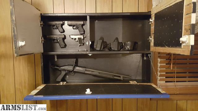I Have Been Experimenting With My Carpentry Skills Lately And I Am Making  Gun Cabinets With Different American Flag Designs That Have Hidden Storage  Inside.