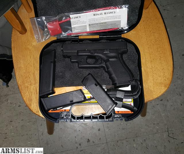 armslist for trade glock 19 gen 4 with crimson trace laser