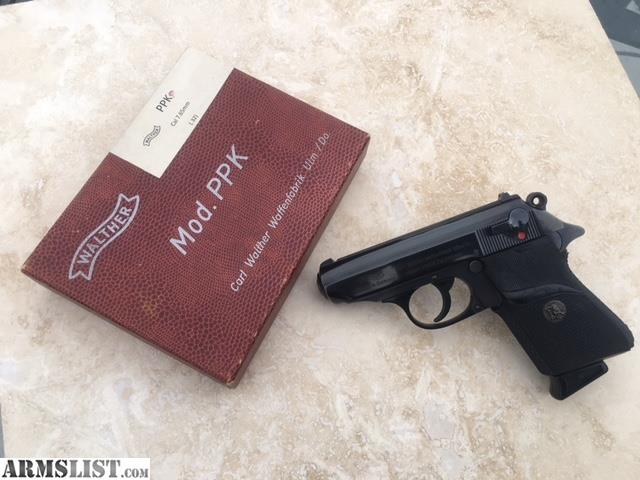 armslist for sale walther ppk s 7 65mm 32 acp the real deal rh armslist com Walther 32 PPK S Serial Chart Walther PPK 32 Auto Review