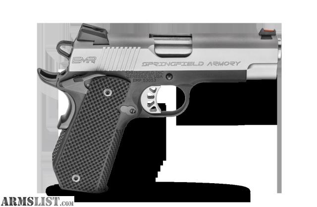 Springfield Armory 1911 Emp 4 Lightweight Concealed Carry