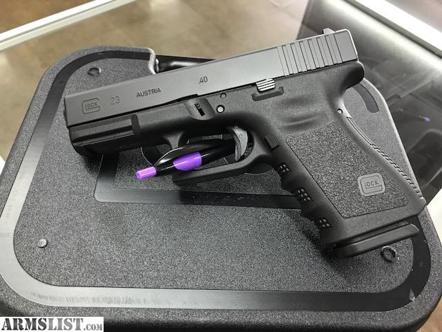 Armslist For Sale New Lower Price Brand New Glock 23 40 Cal