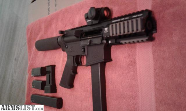 Armslist For Sale 9mm Ar Pistol Colt Smg Style 4