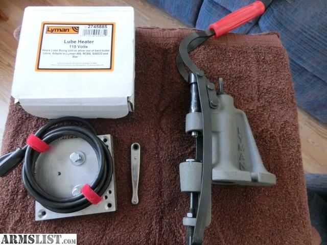 Lyman 450 Bullet Sizer Heater