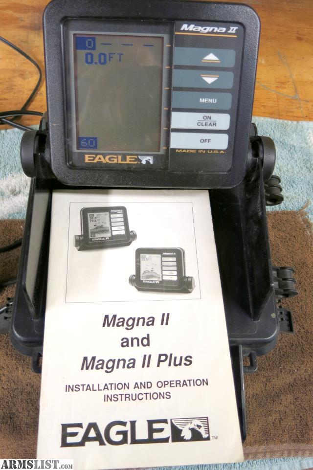 Armslist for sale eagle fish finder for Fish finder for sale