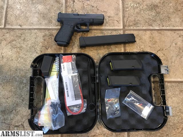 armslist for sale upgraded glock 19 fs. Black Bedroom Furniture Sets. Home Design Ideas