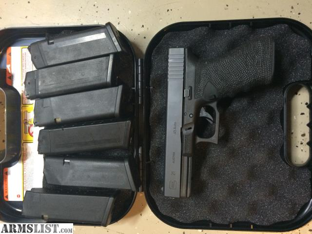ARMSLIST - For Sale/Trade: GLOCK 21SF custom grip, 6mags ...