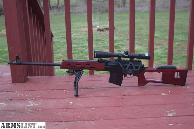 Armslist For Sale Vepr In 7 62x54r With Svd Psl