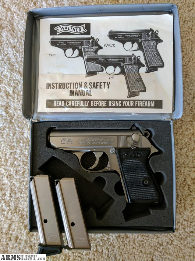 armslist for sale walther ppk s stainless 380acp interarms rh armslist com Walther PPK S Recall Walther PPK S Manufacture Date