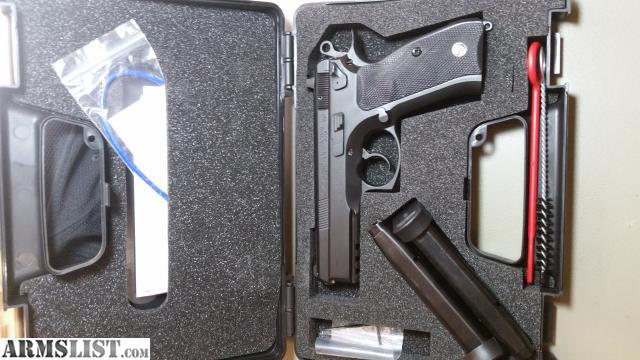 ARMSLIST - For Sale: CZ 75 SP-01 Tactical