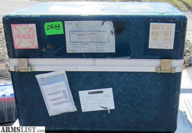 ARMSLIST - For Sale: Military Surplus Container