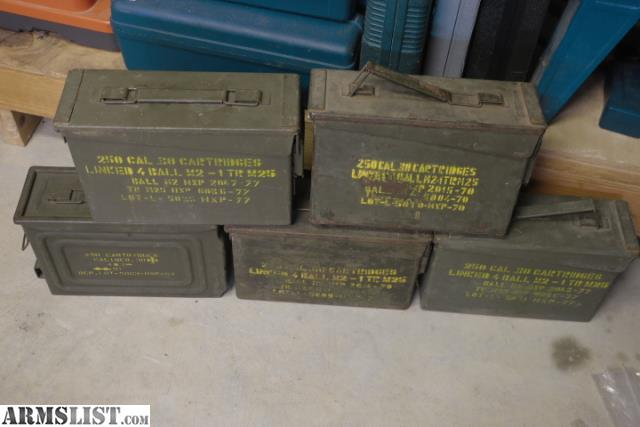 ARMSLIST - For Sale: Greek .30-06 M2 Ball HXP 1000 Rounds