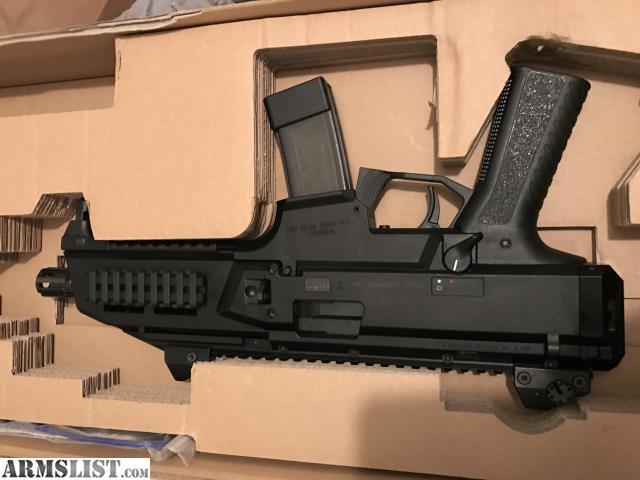 ARMSLIST - For Sale: Like New CZ Scorpion Pistol W/5 Mags