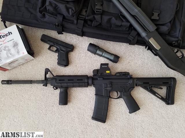 ARMSLIST - For Sale: Bushmaster AR-15 w EOTech Holographic Sight