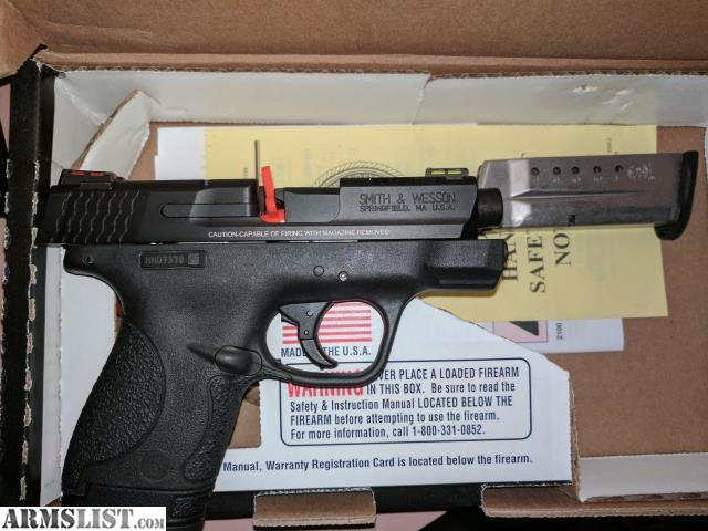 Armslist for sale m p shield performance center 9mm for M p ported shield 9mm