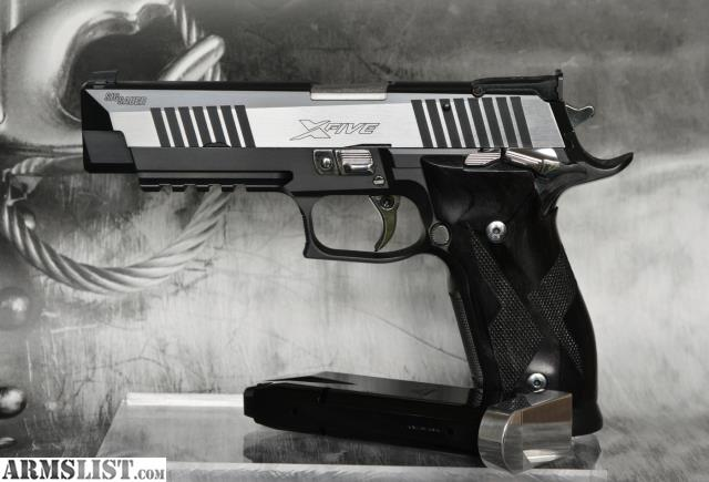 sig sauer p226 x-six (x6) black and white 9mm