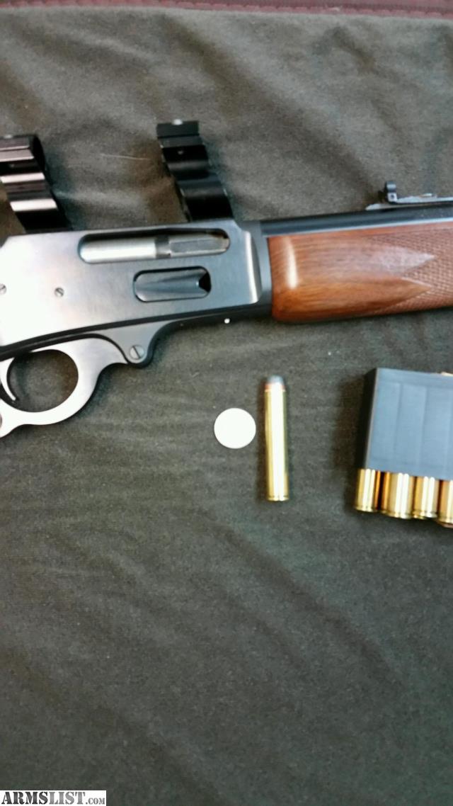 Wild West Guns Costom Made From Marlin Guide Gun, Cal .50 ...