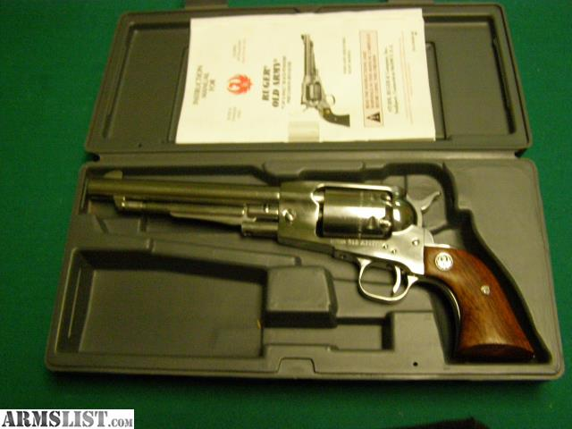 ARMSLIST - For Sale: ruger old army cap -ball