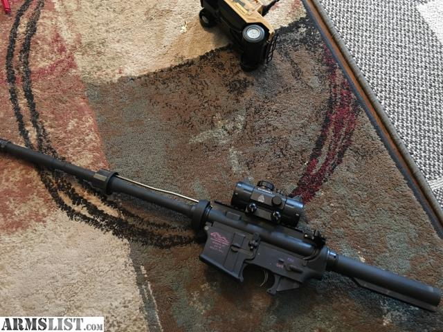 ARMSLIST For Sale Bare bones ar15 rifle needs furniture