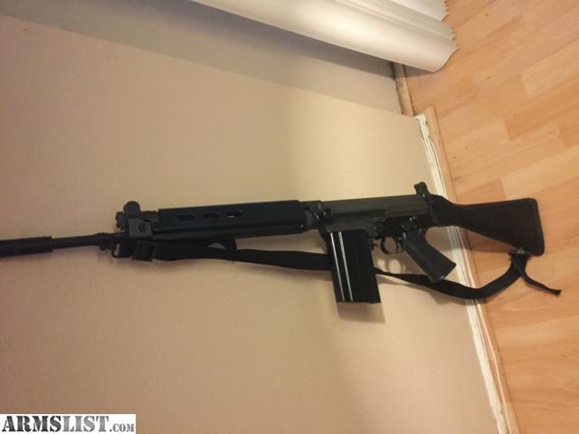 ARMSLIST - For Sale: SA, Inc DSA FAL rifle  308 - EXCELLENT
