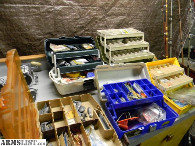 Armslist for sale trade deep sea fishing gear lot for Fishing stuff for sale