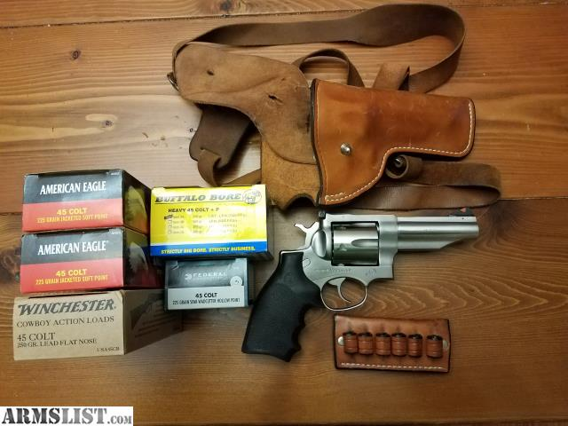 ARMSLIST - For Sale/Trade: Ruger Redhawk 45 LC with