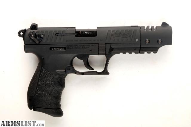 ARMSLIST - For Sale: WALTHER P22 Target CA