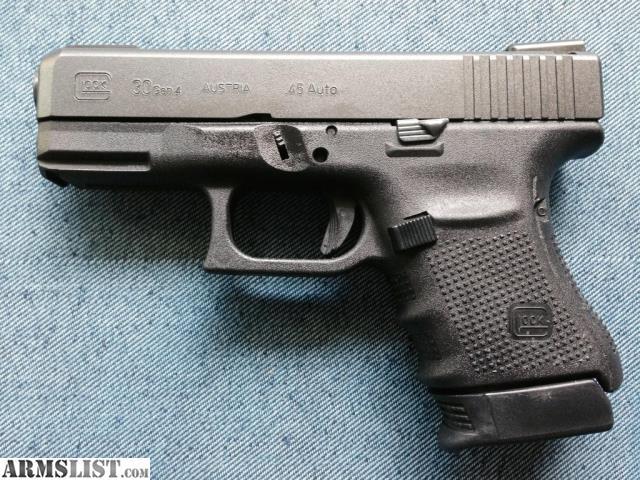 Glock 30s Gen 4 ARMSLIST - For Sale/Tr...