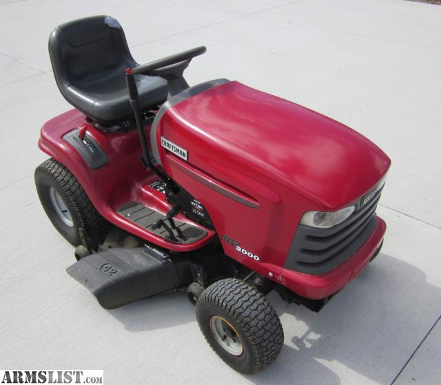 Craftsman Hydrostatic Transmission Tractor : Armslist for sale craftsman lawn tractor hp v twin