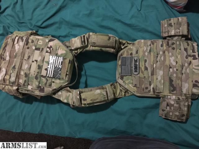 For Sale Fight Light Plate Carrier By Tactical Tailor. This Body Armor  System Is Great If You Use A Minimalist Design But Want The Ability To Add  Or Remove ...