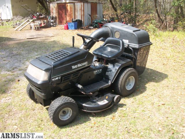 mtd yard machine tractor