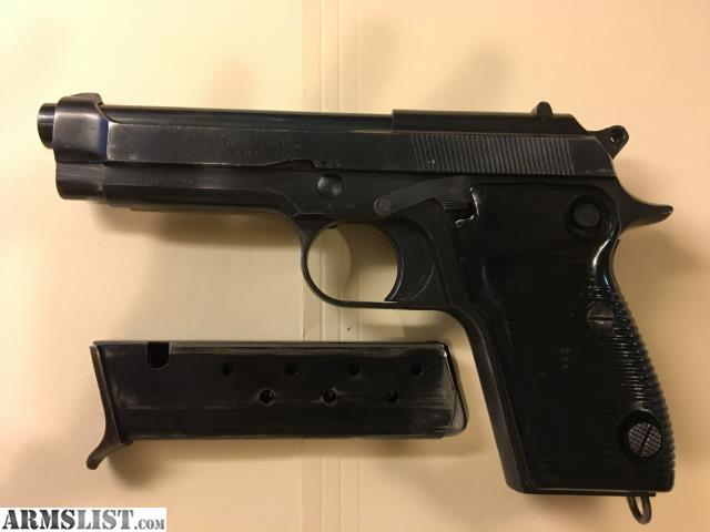 ARMSLIST - For Sale: Egyptian 9mm Beretta Copy made by Navy Arms