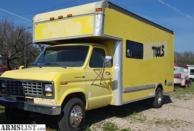 armslist for sale 1990 ford econoline box truck. Black Bedroom Furniture Sets. Home Design Ideas