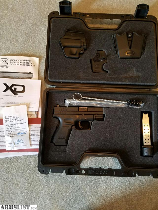 Armslist for sale springfield armory xd 9 for Springfield registry of motor vehicles