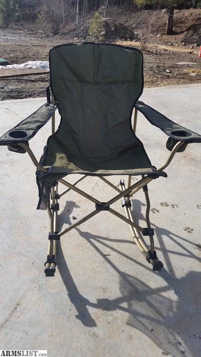 ARMSLIST For Sale Cabela s Rocking Chair