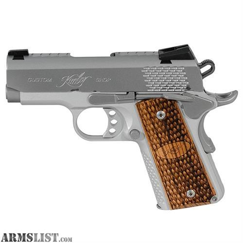 Kimber 9mm Micro 9 Stainless Tfx Pr: For Sale: NEW KIMBER Micro 9 Stainless Raptor 9MM