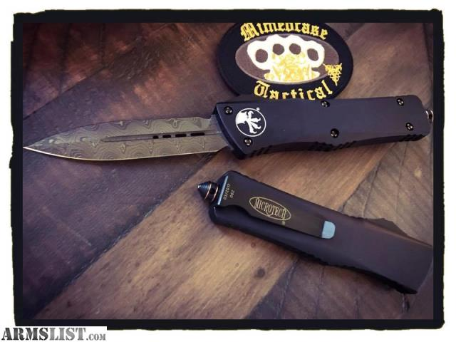 ARMSLIST - For Sale: Microtech Combat Troodon Damascus Cu HDW