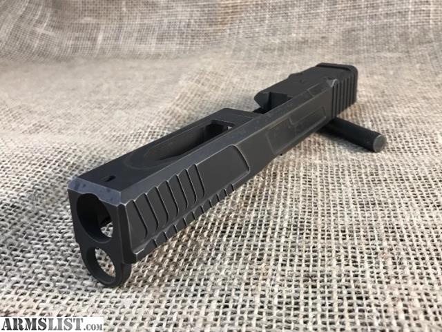 ARMSLIST - For Sale: Custom Glock 17 slide gen 4