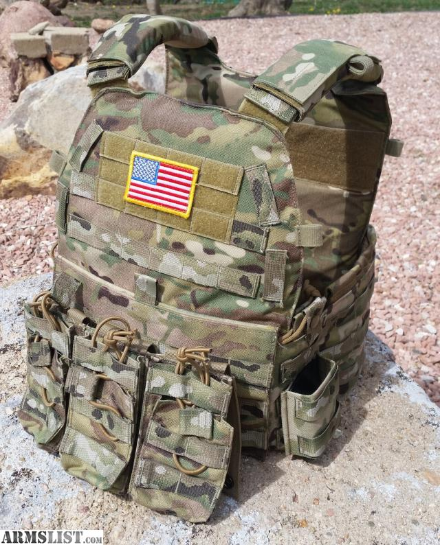 AWS OCPC Plate carrier size large in multicam. Great shape. Comes with a 3x3 rifle mag pouch. Hesco 4400 Level IV Ceramic Multi curve ballistic plates in XL ... & ARMSLIST - For Sale: Plate Carrier \u0026 Level IV Ceramic Plates AWS ...