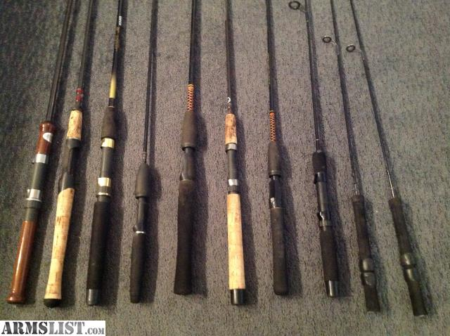 Armslist for sale fishing rods for Custom fishing rods for sale