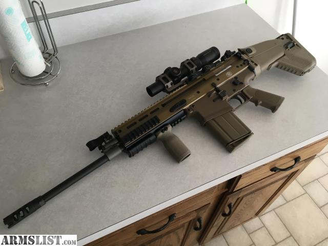 ARMSLIST - For Sale: FN SCAR 17 308 / 3 Mags / VLTOR Stock